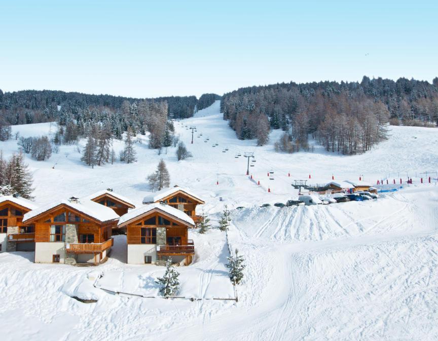 dahu les arcs ski resort catered ski chalets