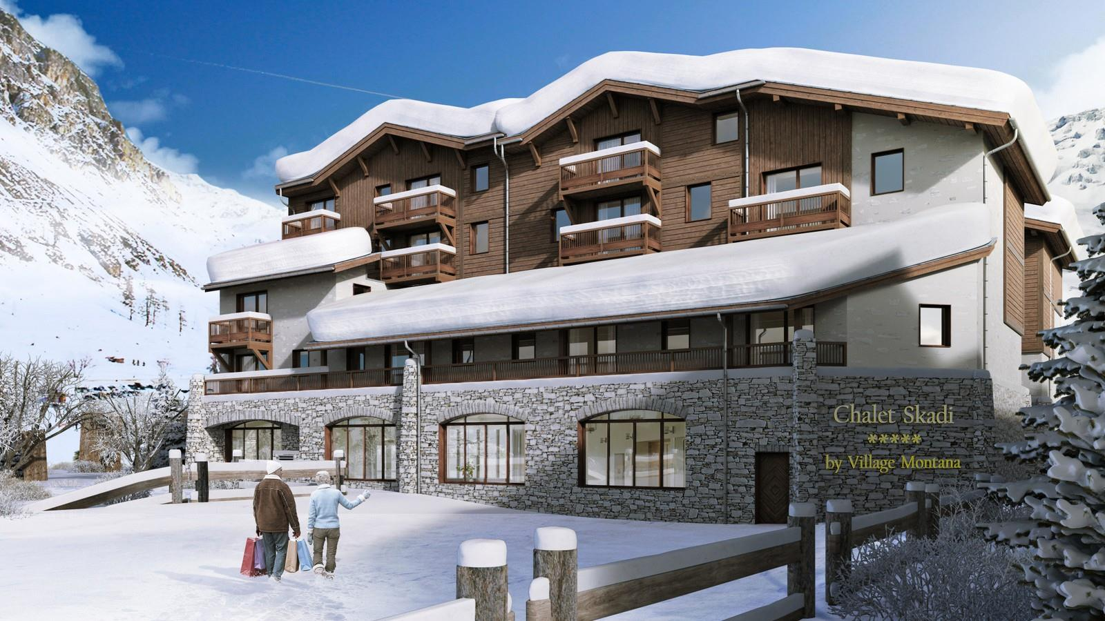 Chalet Skadi 3 bedroom apartment