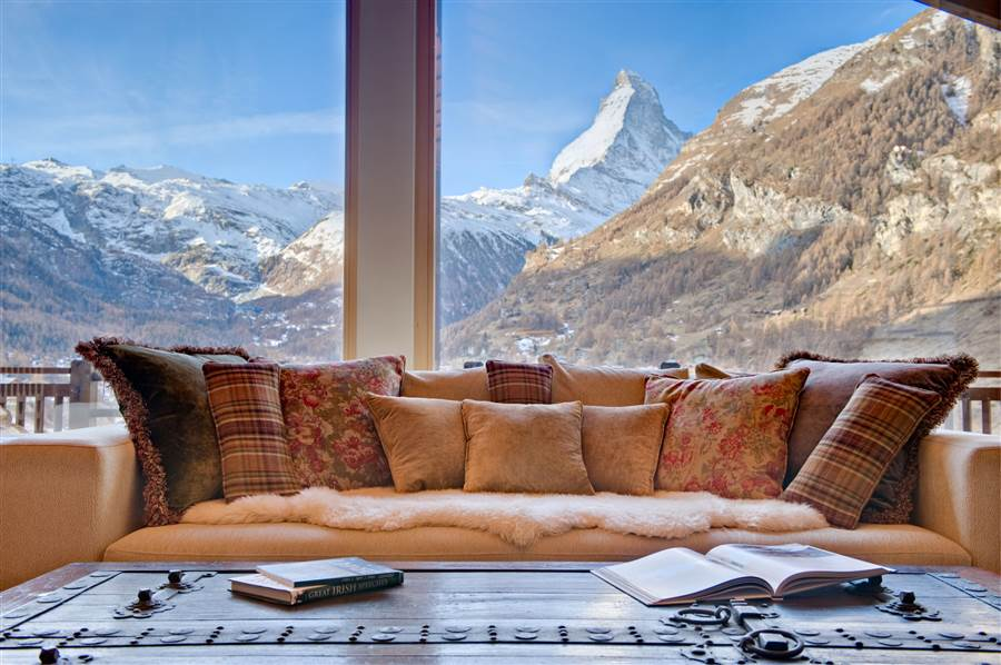 Grace - View from Chalet