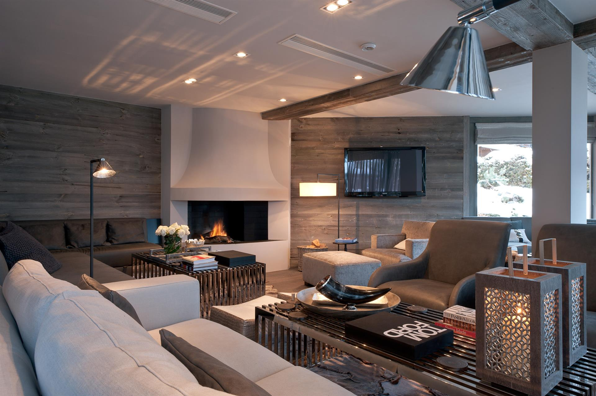 No 14 Verbier - Living Area