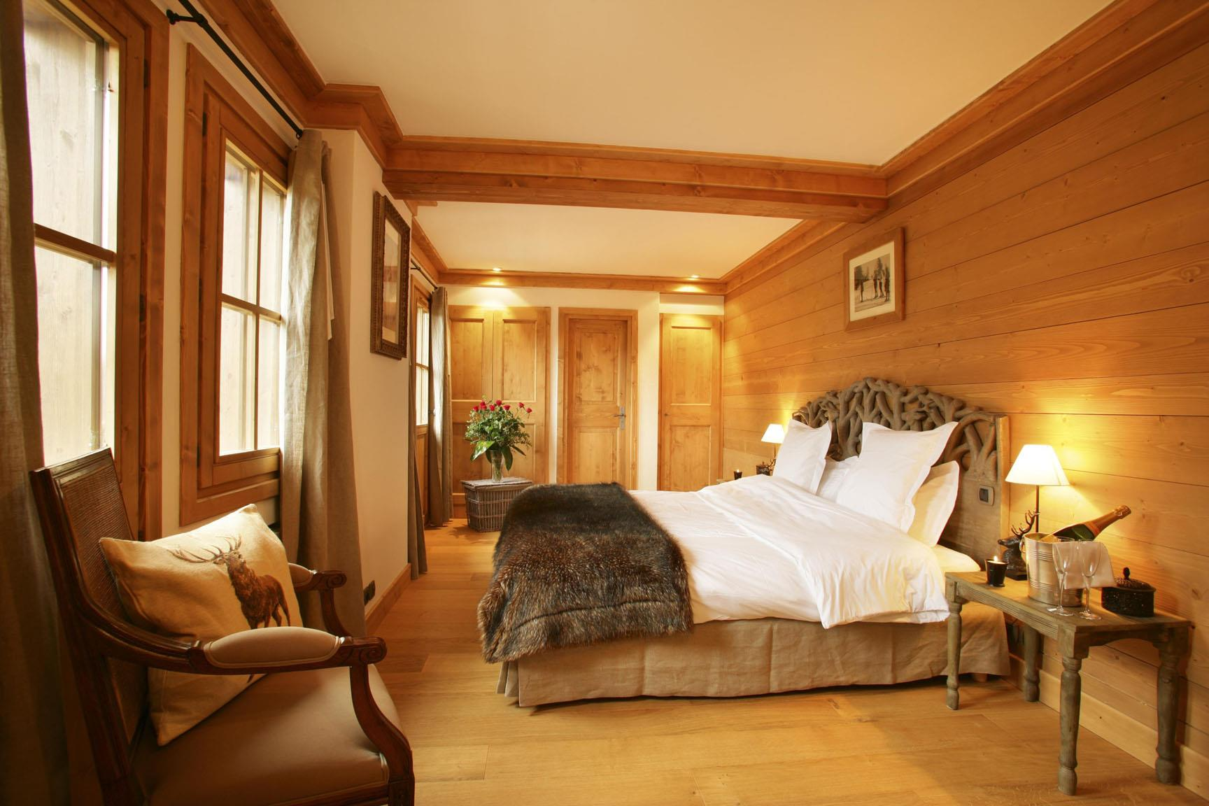 Chamois Lodge Courchevel - Bedroom
