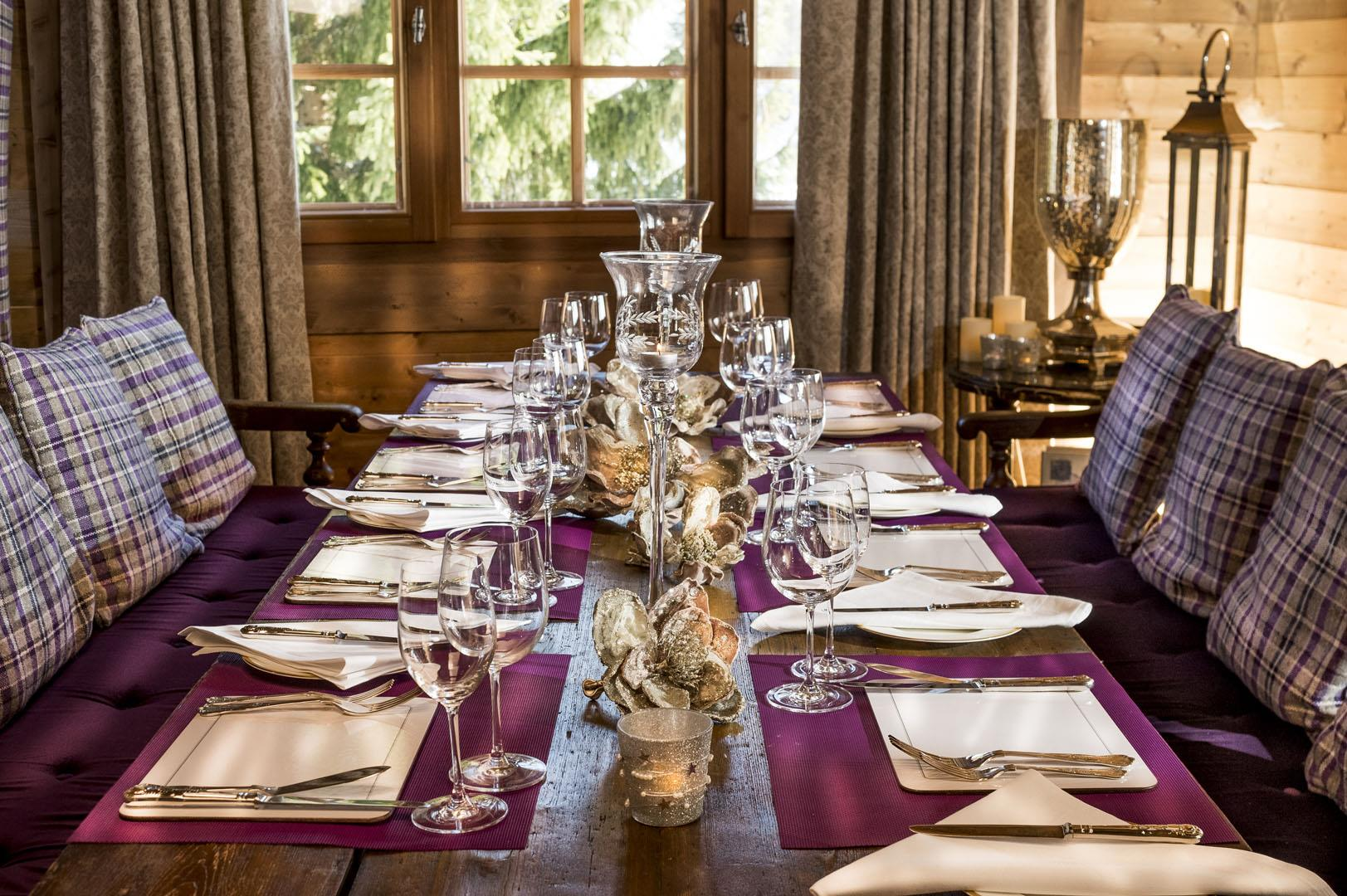 Le Grand Joux - Dining Area