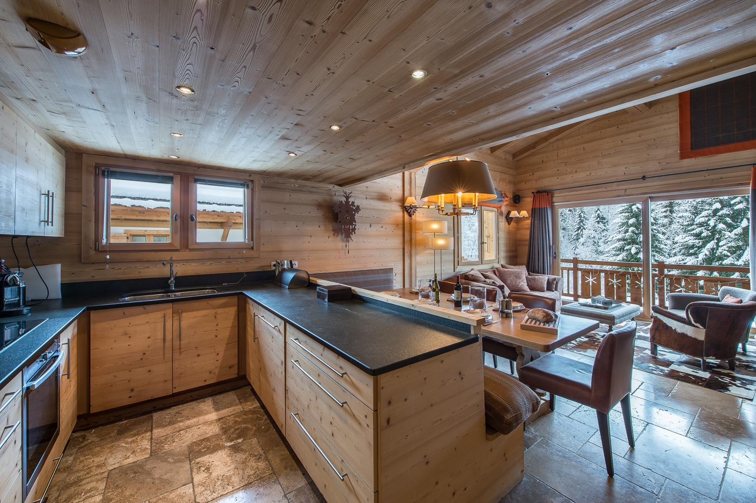Balcons de Megeve - Kitchen