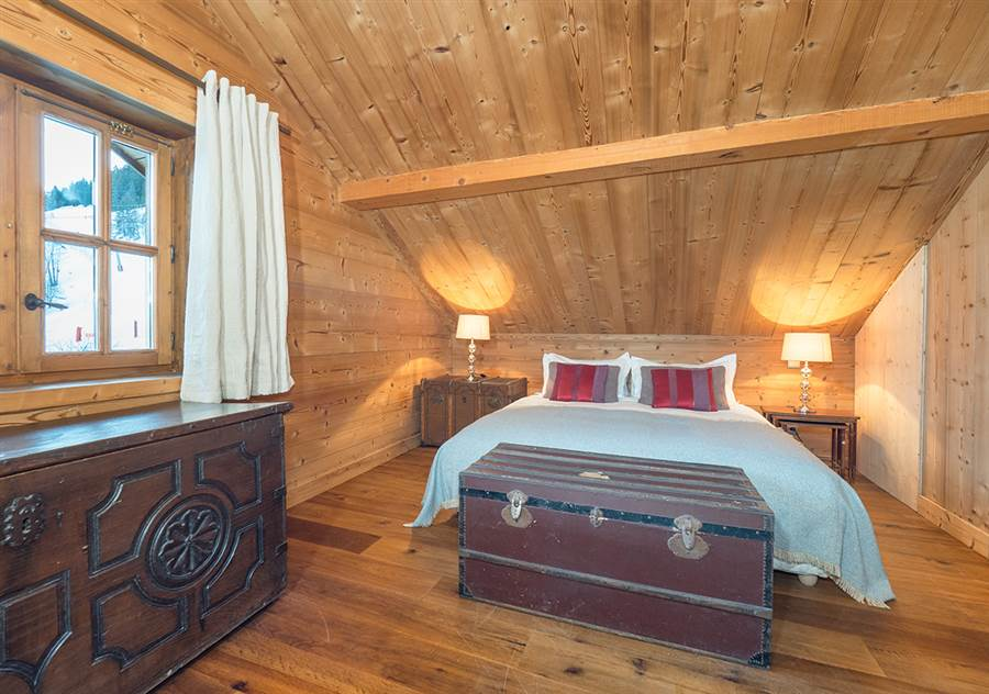 interior of small bedroom chaudanne in meribel from interactive resorts 15658