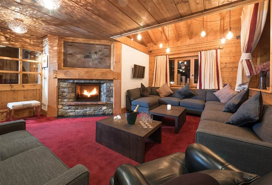 Indiana Lodge - Living Area