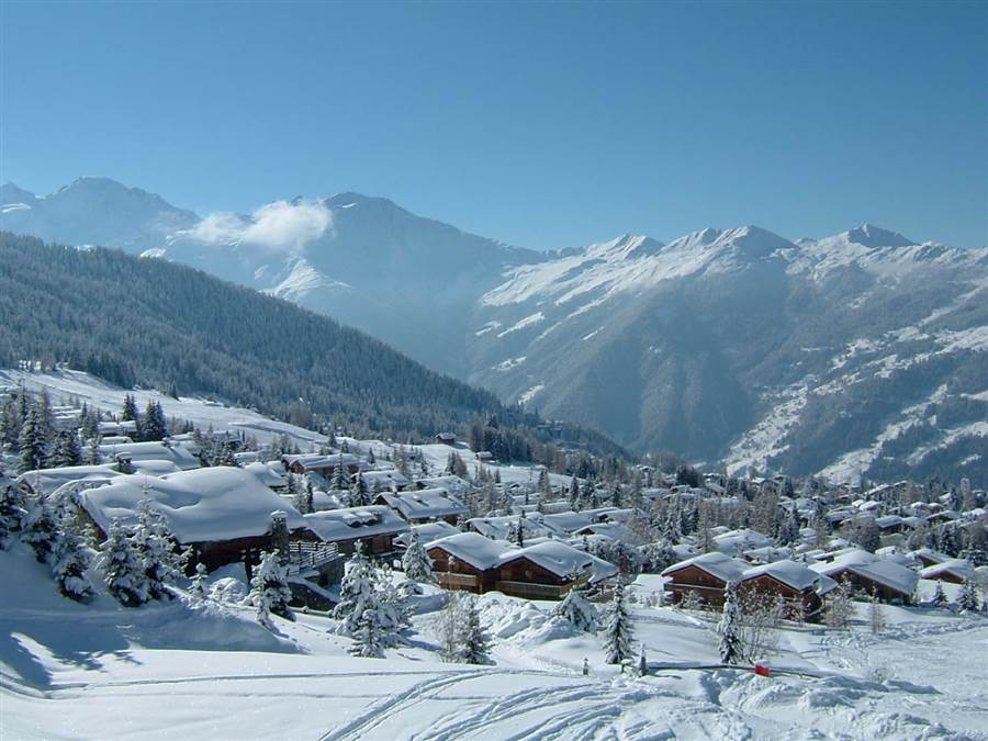 Les Attelas - View from Chalet