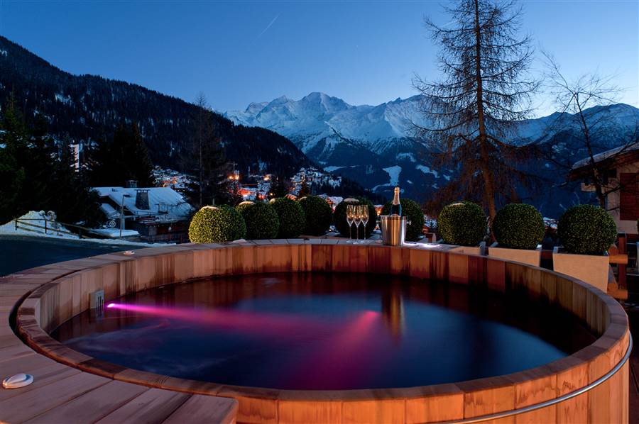 No 14 Verbier - Hot Tub