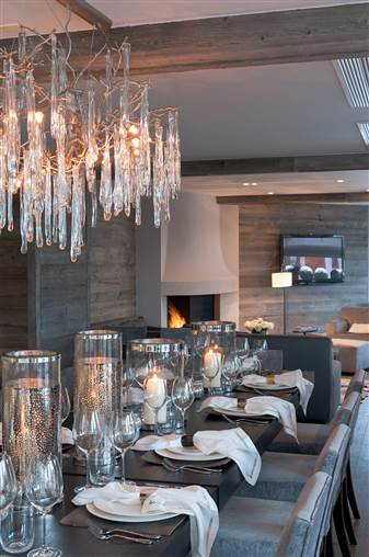 No 14 Verbier - Dining Area