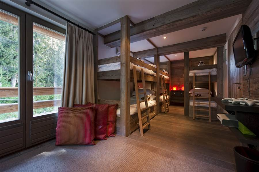 The Lodge - Bedroom - Bunk/s