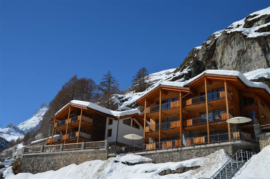 Gemini - View of Chalet