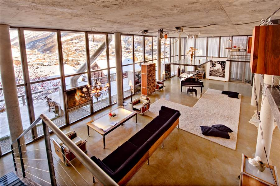 Zermatt Loft - Living Area