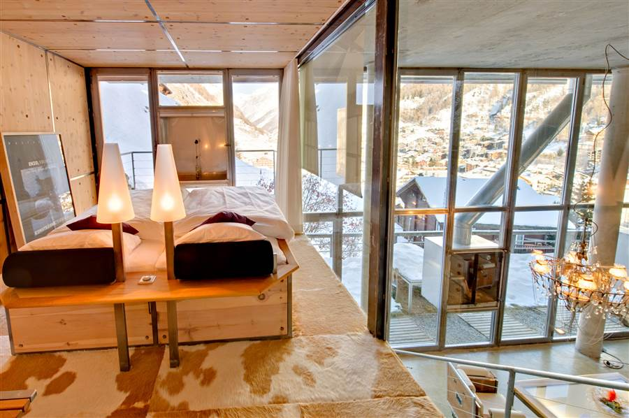 Zermatt Loft - Bedroom