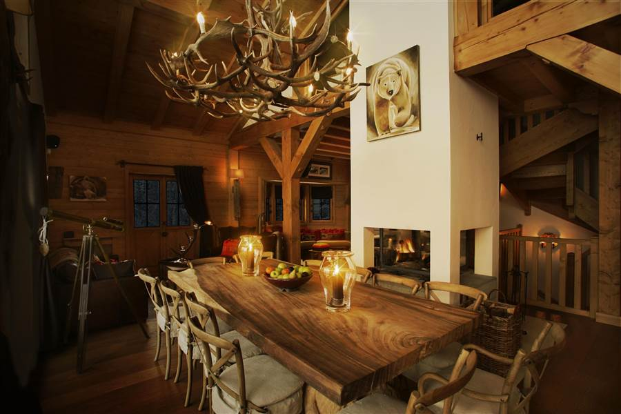 Blanchot Lodge - Dining Area