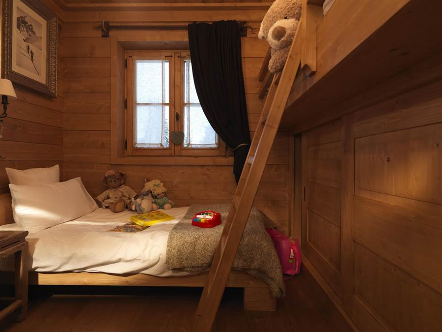 Blanchot Lodge - Bedroom - Bunk/s