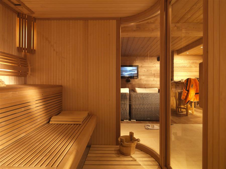 Chamois Lodge Courchevel - Sauna