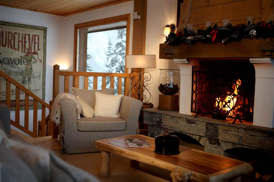 Marmotte Lodge - Lounge