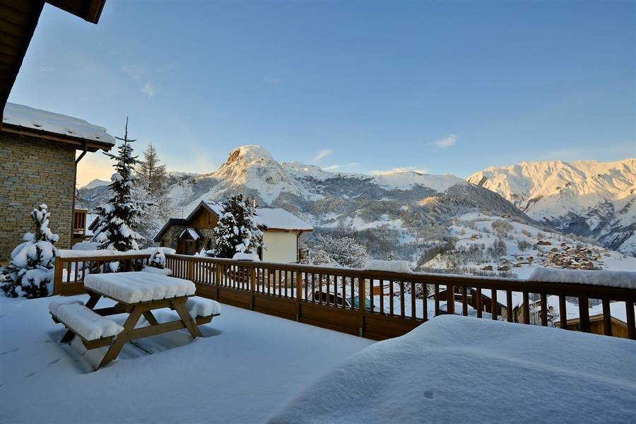 Cateline - View from Chalet