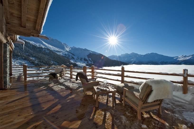 Alpine Estate - View from Chalet