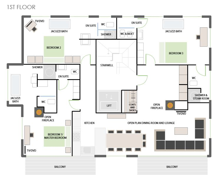 High 7 Jewel - Floorplan