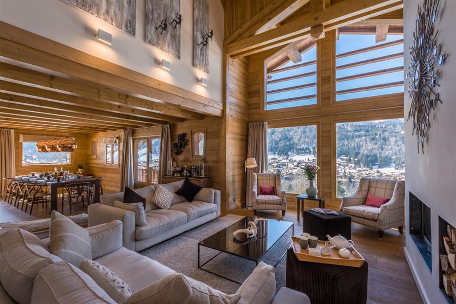 Chalet M - Living Area