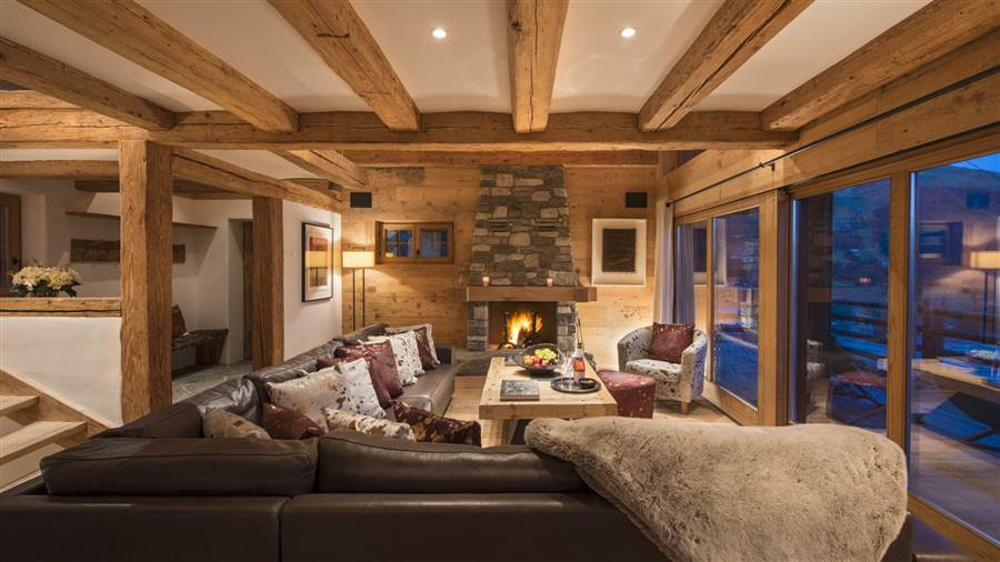 Nuits Blanches - Living Area
