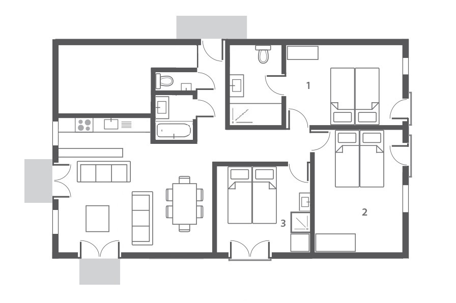 Darkoum Makan - Floorplan