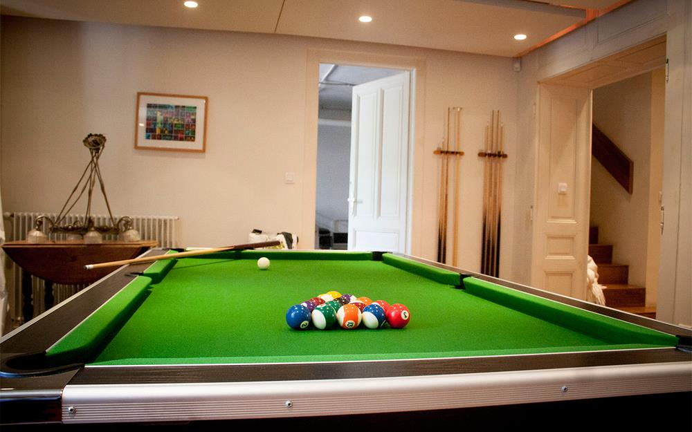 Mayors House - Pool Table
