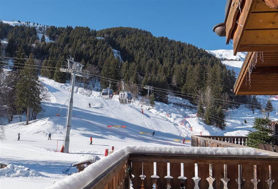 Chaudanne - View from Chalet