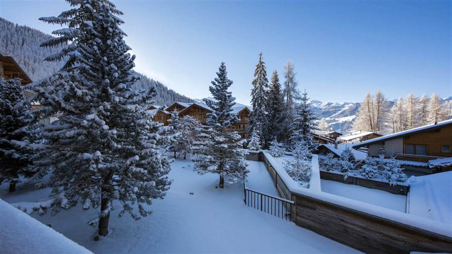 Rosalp 4 - View from Chalet