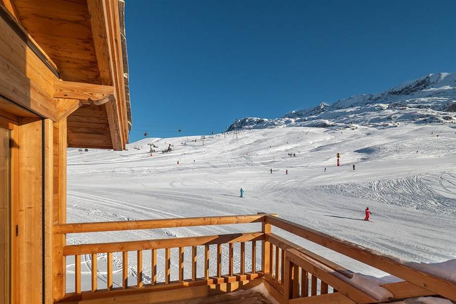 Eden West - View from Chalet