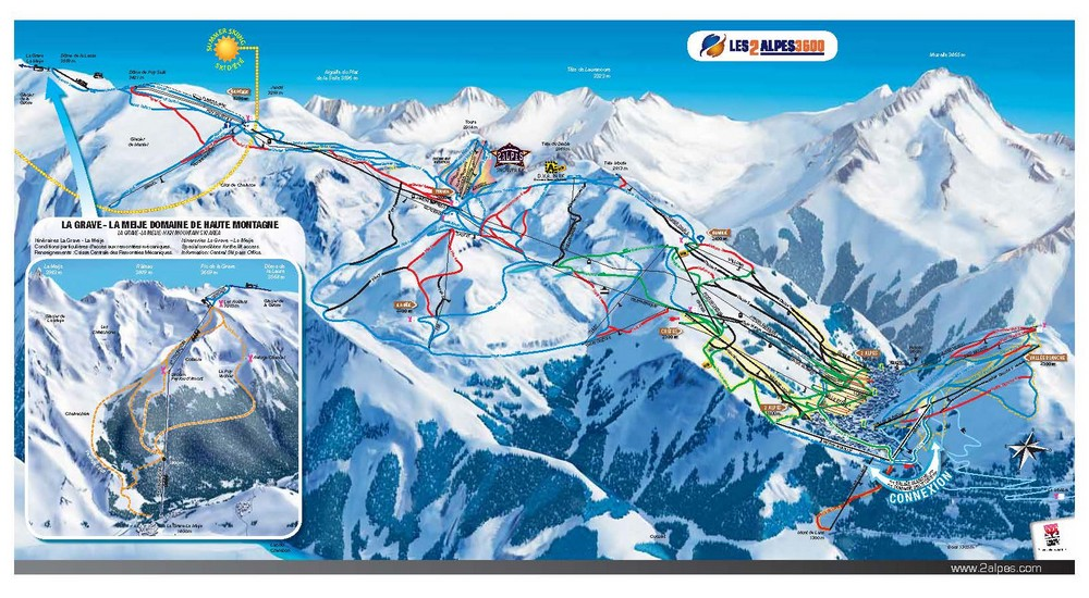 Les Deux Alpes Ski Chalets in France with Interactive Resorts