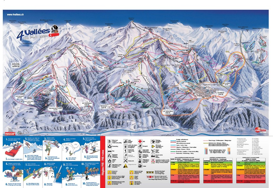 Verbier Ski Chalets in Switzerland with Interactive Resorts